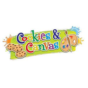 Cookies & Canvas graphic